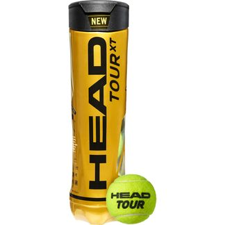 Head - Tour XT Tennis Balls Set of 4
