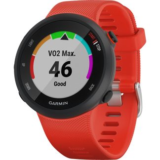 Garmin - Forerunner 45 black lava red