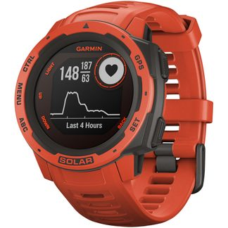 Garmin - Instinct Solar red
