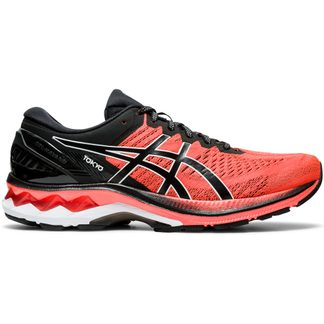 ASICS - Gel-Kayano 27 Running Shoes Men sunrise red black