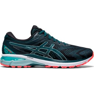 ASICS - GT-2000 8 Running Shoes Men  black magnetic blue