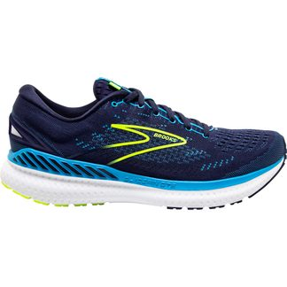 Brooks - Glycerin 19 GTS Running Shoes Men navy blue nightlife
