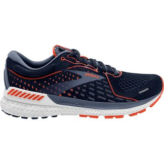 Brooks - Adrenaline GTS 21 Running Shoes Men navy red clay gray
