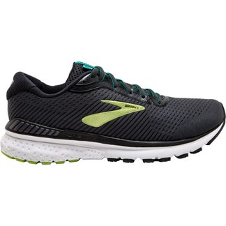 Brooks - Adrenaline GTS 20 Running Shoes Men black lime blue grass