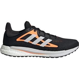 adidas - SolarGlide Laufschuhe Herren core black footwear white screaming orange