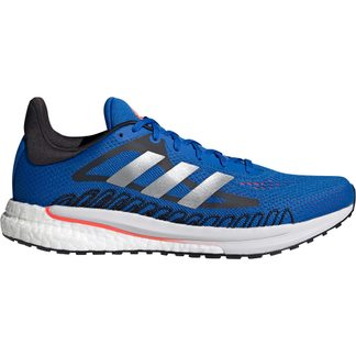adidas - SolarGlide Laufschuhe Herren football blue silver metallic solar red