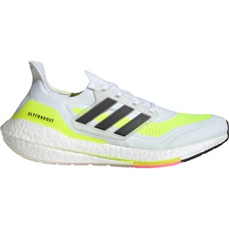 adidas - Ultraboost 21 Laufschuhe Herren footwear white core black solar yellow