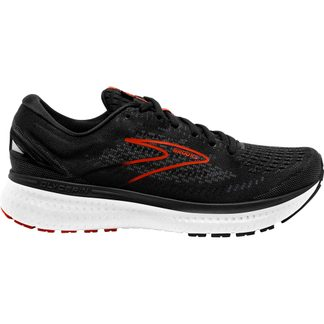 Brooks - Glycerin 19 Laufschuhe Herren black grey red clay