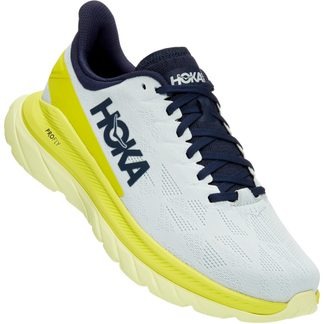 Mach 4 Running Shoes Men blue flower citrus