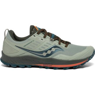 Saucony - Peregrine 10 Trail Running Shoes Men pine orange