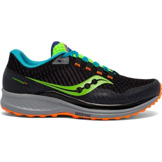 Saucony - Canyon TR Trail Running Shoes Men future black