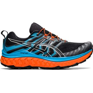 ASICS - Trabuco Max Trail Running Shoes Men black digital aqua
