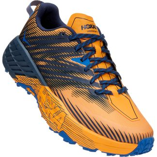 HOKA - Speedgoat 4 Trail Running Shoes Men saffron black iris