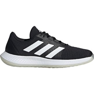 adidas - ForceBounce Handball Shoes Men core black footwear white solar red