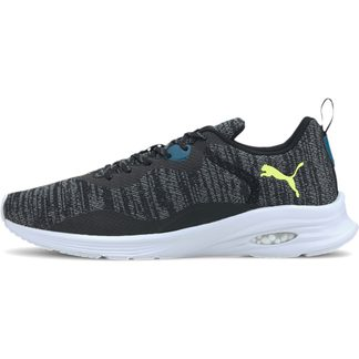 Puma - Hybrid Fuego Knit Indoor Shoes Men puma white glacier gray puma black