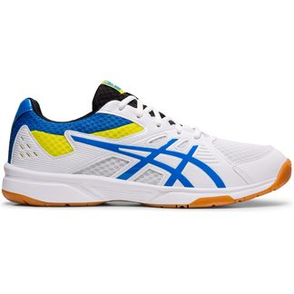 ASICS - Upcourt 3 Volleyball Shoes Men white electric blue