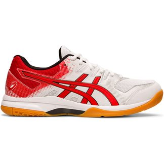 ASICS - Gel-Rocket 9 Indoor Shoes Men white classic red