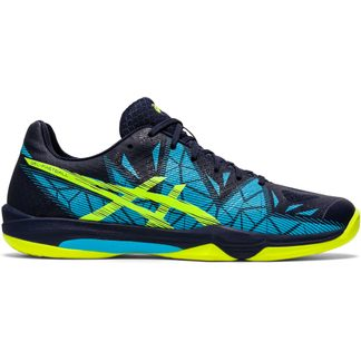 ASICS - Gel-Fastball 3 Hallenschuhe Herren peacoat safety yellow