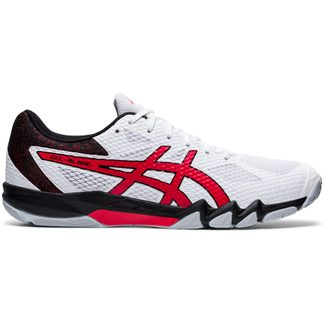 ASICS - Gel-Blade 7 Indoor Shoes Men white classic red