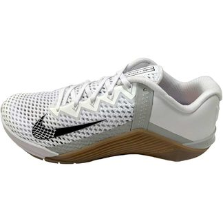Nike - Metcon 6 Training Shoe Men white black gum dark brown