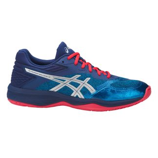 ASICS - Netburner Ballistic FF Volleyball Shoes Men race blue silver