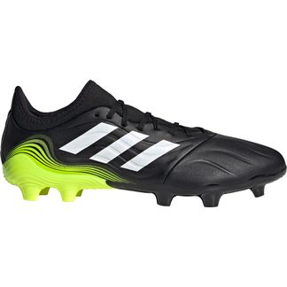 adidas - Copa Sense.3 FG Football Shoes Men core black footwear white solar yellow