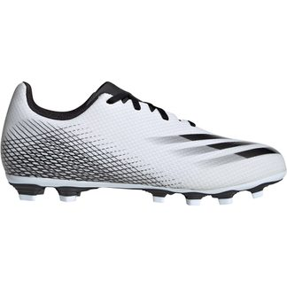 adidas - X Ghosted.4 FxG Fußballschuhe Herren footwear white core black silver metallic