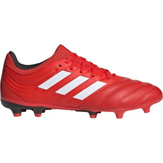 adidas - Copa 20.3 FG Football Shoes Men active red footwear white core black