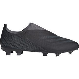 adidas - X Ghosted.3 Laceless FG Fußballschuhe Herren core black grey six