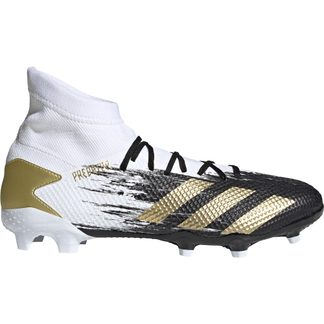 adidas - Predator Mutator 20.3 FG Football Shoes Men footwear white gold metallic core black