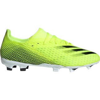 adidas - X Ghosted.3 FG Fußballschuhe Herren solar yellow core black team royal blue