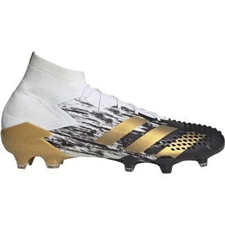 adidas - Predator Mutator 20.1 FG Football Shoes Men footwear white gold metallic core black