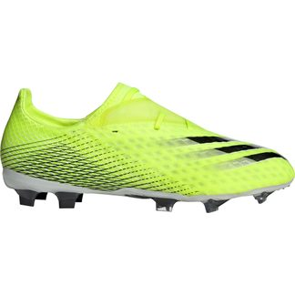 adidas - X Ghosted.2 FG Fußballschuhe Herren solar yellow footwear white team royal blue
