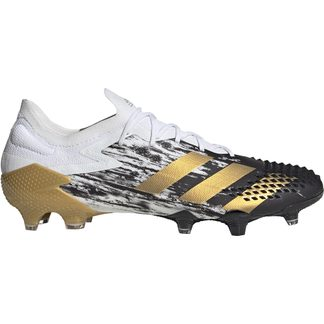 adidas - Predator Mutator 20.1 Low-Cut FG Fußballschuhe Herren footwear white gold metallic core black