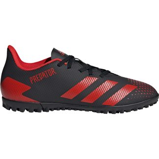 adidas - Predator 20.4 TF Football Shoes Men core black active red