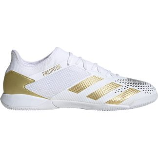 adidas - Predator Mutator 20.3 IN Fußballschuhe Herren footwear white gold metallic core black