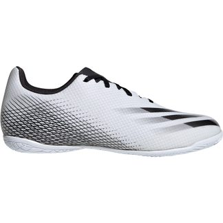 adidas - X Ghosted.4 IN Fußballschuhe Herren footwear white core black silver metallic