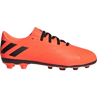 adidas - Nemeziz 19.4 FxG Football Shoes Boys signal coral core black solar red