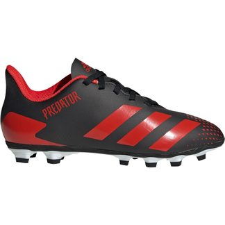 adidas - Predator 20.4 FxG Football Shoes Boys core black active red