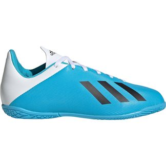 adidas - X 19.4 IN Football Shoes Kids bright cyan core black shock pink