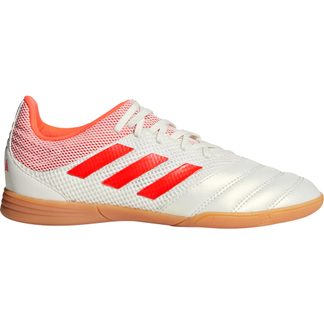 adidas - Copa 19.3 Sala IN Football Shoes Kids white solar red