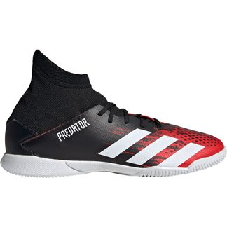 adidas - Predator 20.3 IN Football Shoes Boys core black footwear white active red