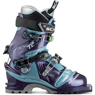 Scarpa - Telemark T2 Eco 75mm Women bourgogne polar blue