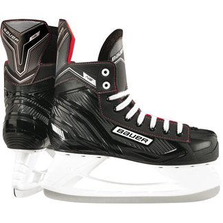 Bauer - NS Senior Ice Skate black red