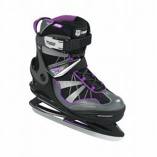 Balzer - Sky Lady New Semi Soft Ice Skate anthracite purple