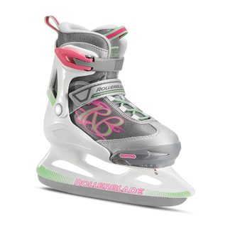 Rollerblade - Comet Ice G Skates Kids white light green
