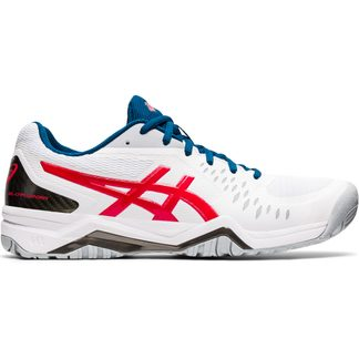 ASICS - Gel-Challenger 12 Tennis Shoes Men white classic red