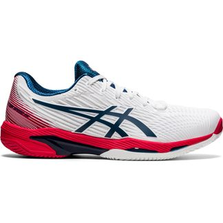 ASICS - Solution Speed FF Clay Tennis Shoes Men white mako blue