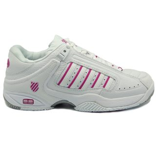 K-Swiss - Defier RS Tennis Shoes Women white very berry