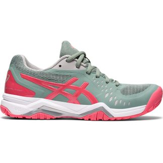 ASICS - Gel-Challenger 12 Tennis Shoes Women slate grey pink cameo